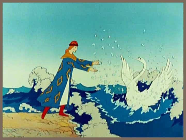 Картинки из сказки царе салтане пушкина смотреть